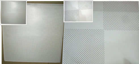 Light Weight and Fire Proof Aluminum Alloy Acoustic Sheet