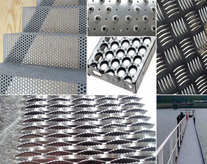 Stair Protective Metal Tread Plate