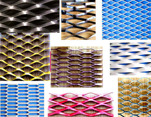 Architectural Perforated Metal And Expanded Metal Wall