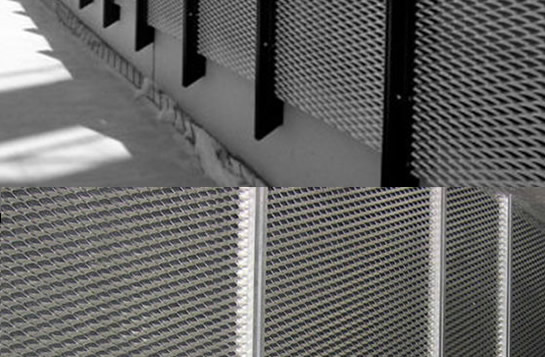 Architectural Perforated Metal And Expanded Wall