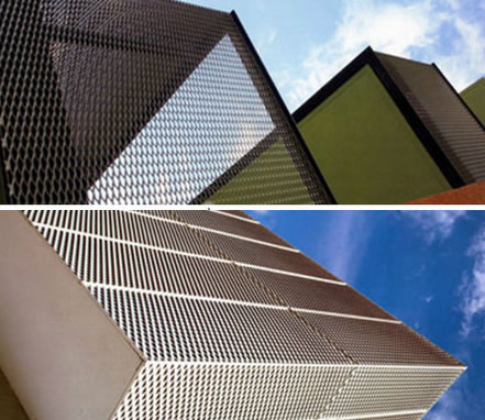 Architectural Perforated Metal and Expanded Metal - Wall Panels ...