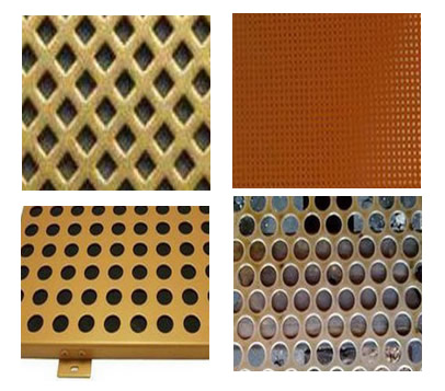 Copper Perforated Screen Panels Punching Hole Metal Sheet