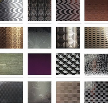 304 embossed stainless steel sheet with decorative embossing designs for building decoration - Decorative Sheet Metal