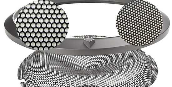 Perforated Metal Grille Sound Control Panels Vent