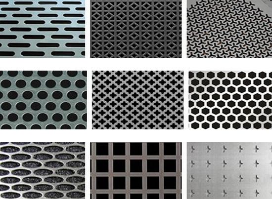 Decorative Aluminum Perforated Sheet Architectural Mesh