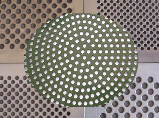 Perforated Stainless Steel Sheet For Ventilation Sieves