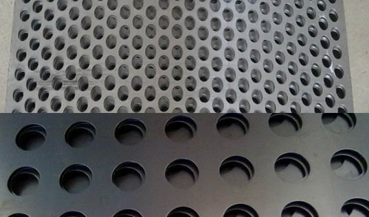 Security Perforated Sheet Panels Metal Mesh Curtains And