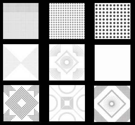 Perforated Metal Acoustic Ceiling Panels Architectural