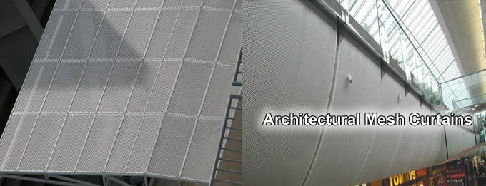 Architectural Mesh Curtains