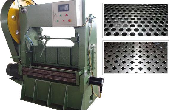 Perforated Sheet Metal Punching Machine Press For Sheet