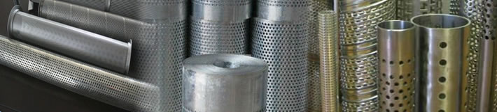 Metal Cylinder Supporting Filter Elements