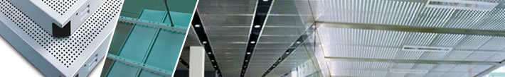 Acoustic Suspension Aluminum Perforated Panels